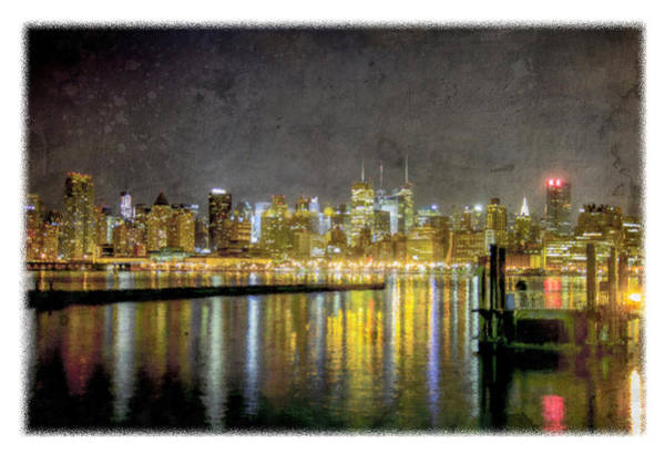 Photograph - Nyc At Night by Jorge Perez - BlueBeardImagery