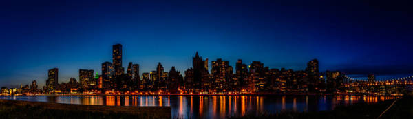 Photograph - Nyc Blue Hour by Randy Scherkenbach