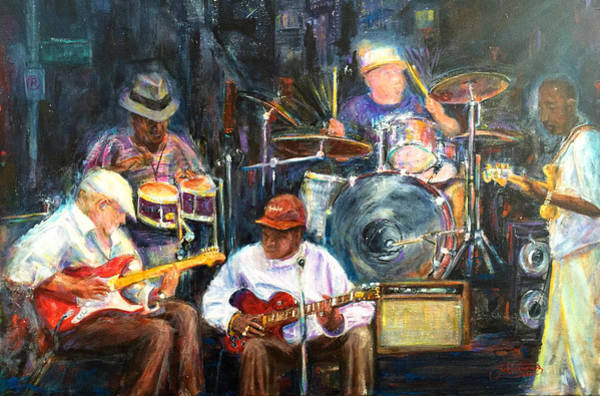 Painting - Nyc Blues by Jack Diamond