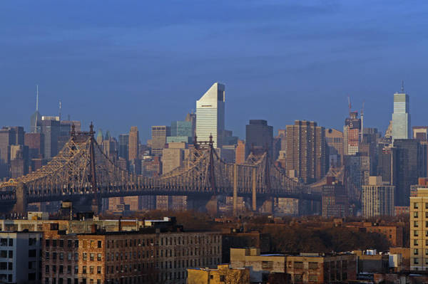 Photograph - Nyc Citicorp Center And Queensboro Bridge by Juergen Roth