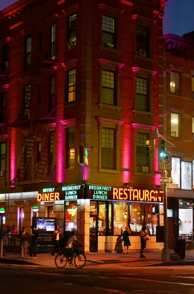 Greenwich Village Photograph - Waverly Diner by Laura Fasulo