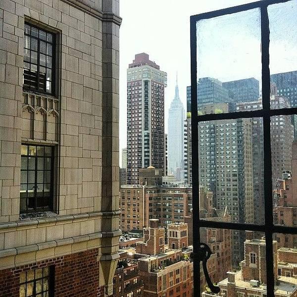 Gotham Wall Art - Photograph - #nyc #manhattan #empire #skyline by Esther Montoro