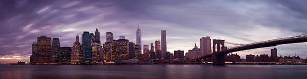 Wall Art - Photograph - Nyc Panorama by Nina Papiorek