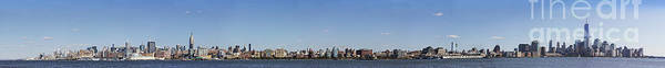Wall Art - Photograph - Nyc Panoramic by Tony Cordoza