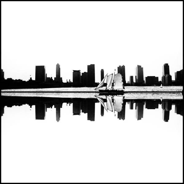 Photograph - Nyc Reflection by Natasha Marco