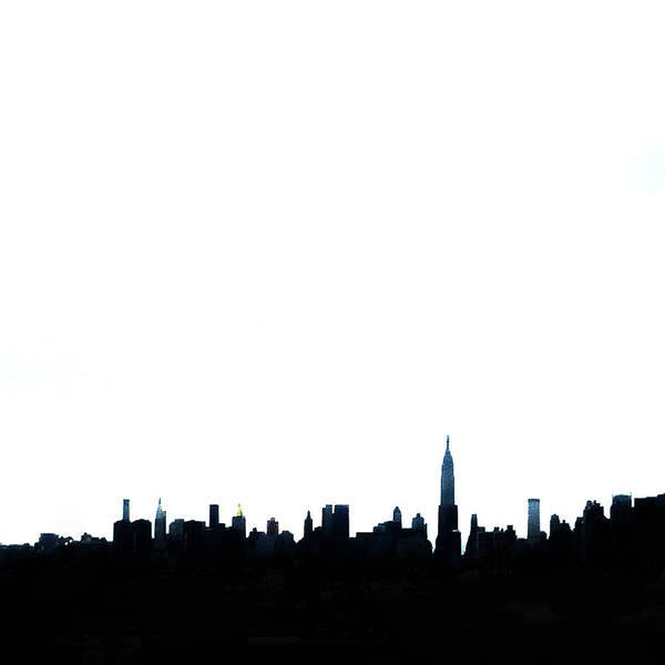 New York City Wall Art - Photograph - Nyc Silhouette by Natasha Marco