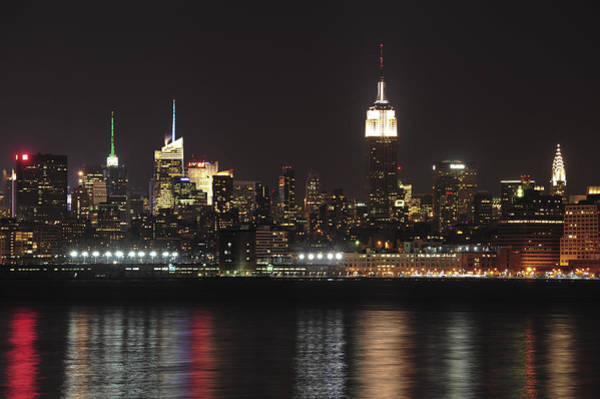 Photograph - Nyc Skyline At Night by Terry DeLuco