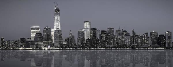 Highrise Digital Art - Nyc Skyline by Eduard Moldoveanu