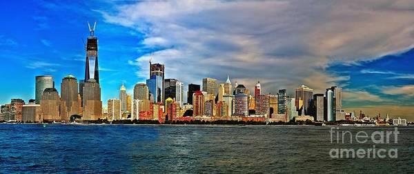 Photograph - Nyc Skyline by Nick Zelinsky