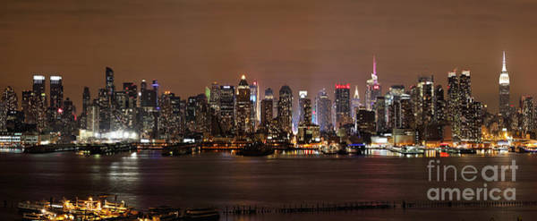 Photograph - Nyc Skyline by Rick Kuperberg Sr