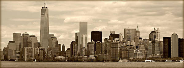 Wall Art - Photograph - Nyc Skyline by Stephen Stookey