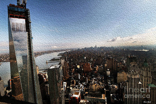 Photograph - Nyc Skyline View by Steven Spak