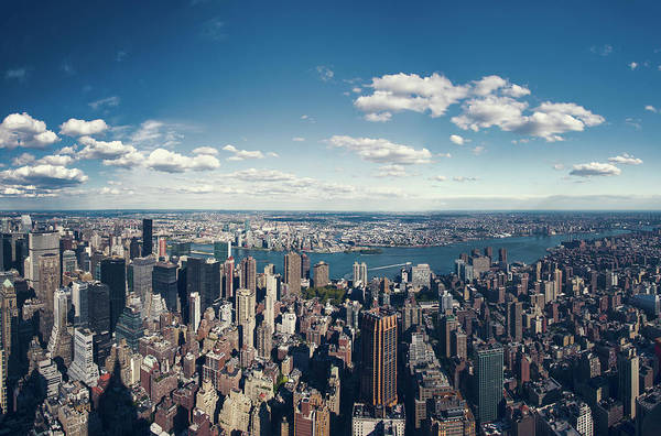 Queen Photograph - Nyc Three Boroughs Aerial by Guillermo Murcia