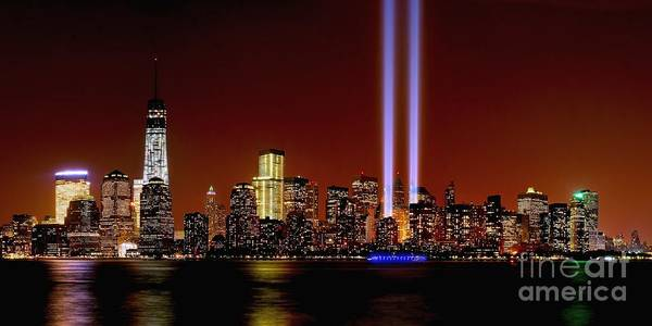 Photograph - Nyc Tribute In Light 2013 by Nick Zelinsky