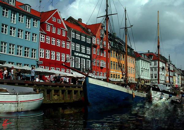 Photograph - Nyhavn Copenhagen by Colette V Hera  Guggenheim