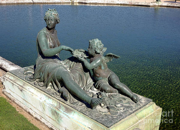 Photograph - Nymph And Pearl At Versailles  by Olivier Le Queinec