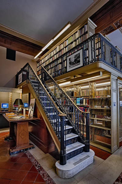 Photograph - Nypl Genealogy Room  by Susan Candelario