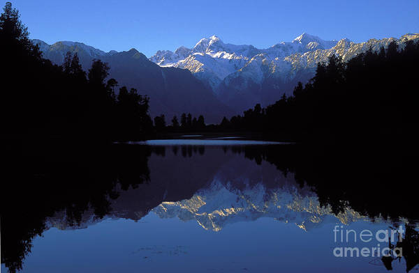 New Zealand Alps Art Print