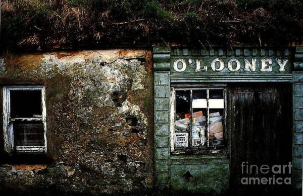 Painting - Bingo O Looneys One Stop Shop by Val Byrne