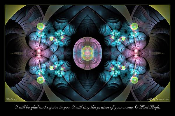 Digital Art - O Most High by Missy Gainer