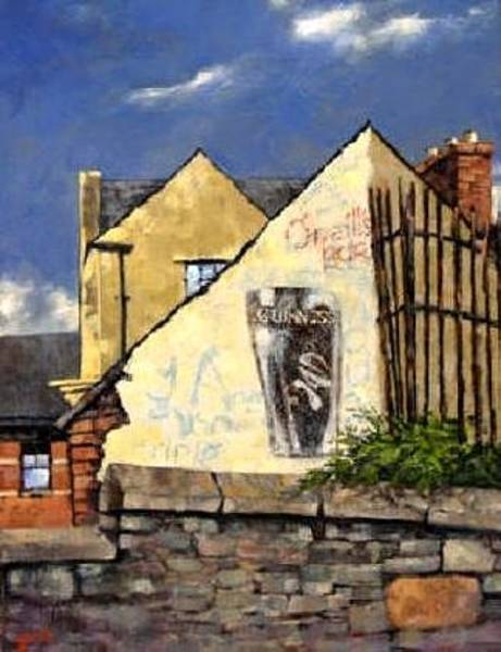 Painting - O Neils Bar Londonderry  by Jim Gola