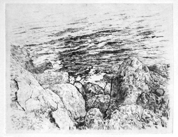 Oahu Drawing - Oahu Cliffs by Ivailo Boliarov