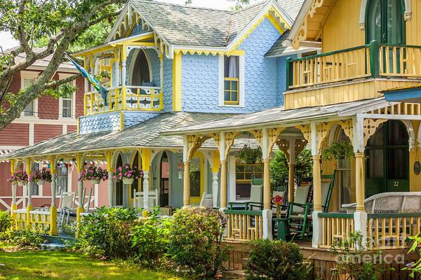 Photograph - Oak Bluffs Cottages by Susan Cole Kelly