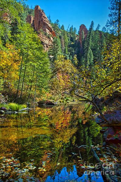 Oak Creek Canyon Painting - Oak Creek Beauty by Brian Lambert