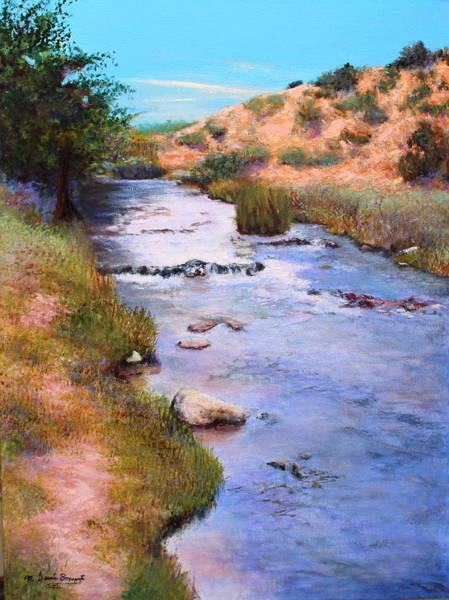 Oak Creek Canyon Painting - Oak Creek by M Diane Bonaparte