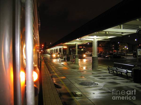 Photograph - Oakland Amtrak Station by James B Toy
