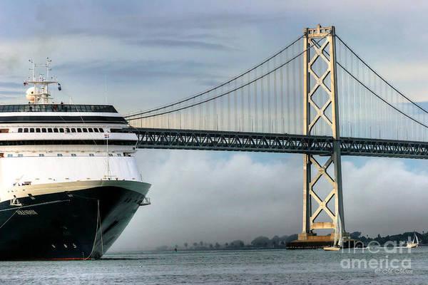 Photograph - Oakland Bay Bridge  by Tap On Photo