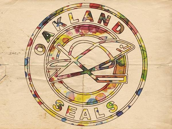 Painting - Oakland Seals Vintage Poster by Florian Rodarte