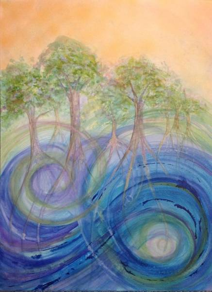 Painting - Oaks Of Righteousness by Deborah Brown Maher