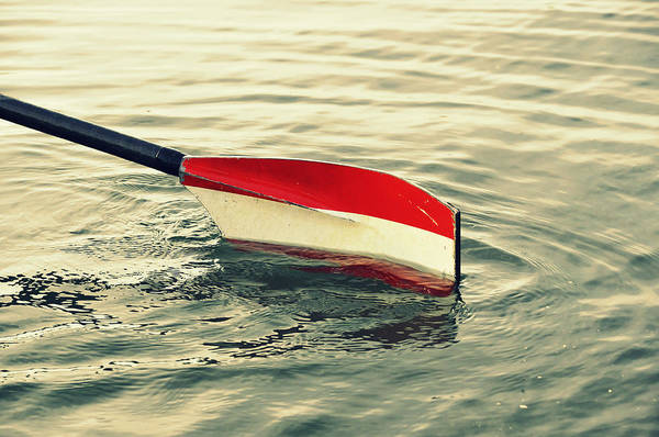 Rowing Photograph - Oar by Chevy Fleet