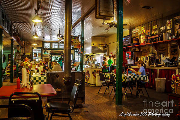 Photograph - Oark General Store by Larry McMahon