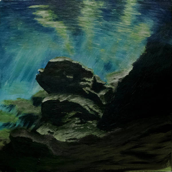 Painting - Oasis In The Cenote by Davend Dominick