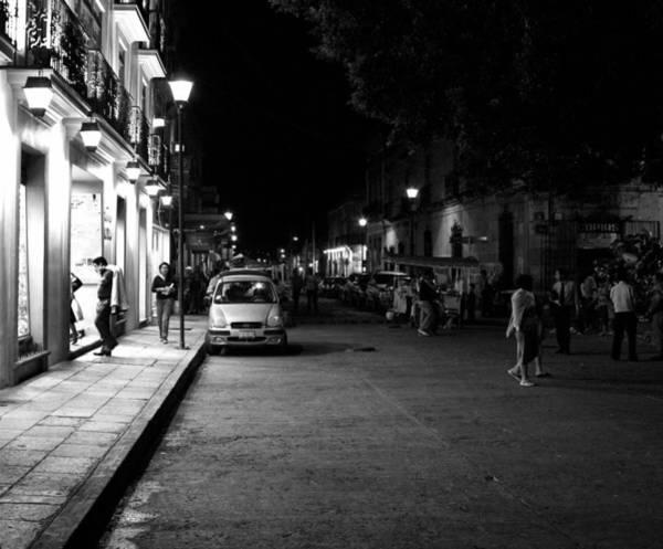 Photograph - Oaxaca At Night 2 by Lee Santa