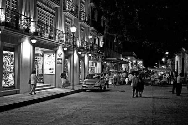 Photograph - Oaxaca At Night 3 by Lee Santa