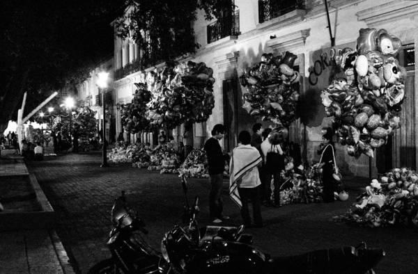 Photograph - Oaxaca At Night 4 by Lee Santa