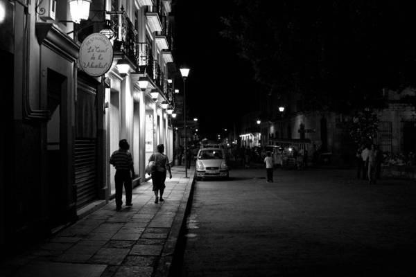 Photograph - Oaxaca At Night1 by Lee Santa