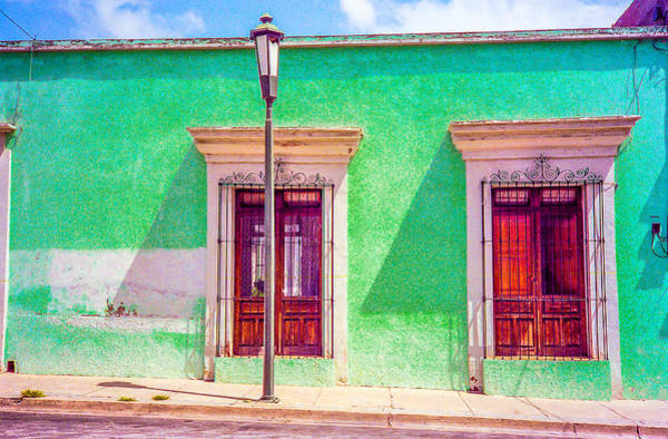 Photograph - Oaxaca Windows by Pete Hendley