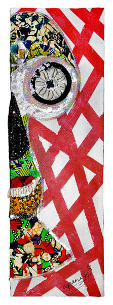Tapestry - Textile - Obaoya by Apanaki Temitayo M