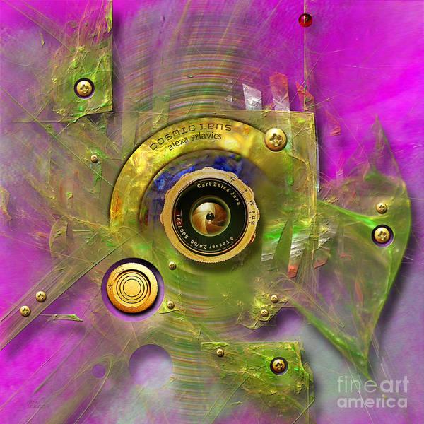 Digital Art - Objective by Alexa Szlavics