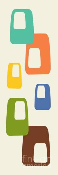 Digital Art - Oblongs by Donna Mibus