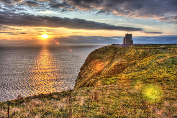Photograph - O'brien's Tower Ireland by Pierre Leclerc Photography