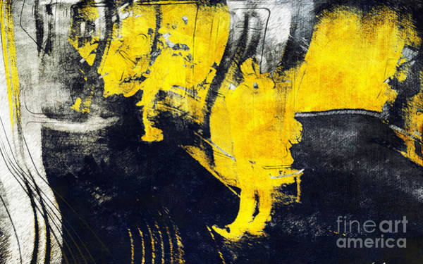 Painting - Observation In Yellow by Nicole Philippi
