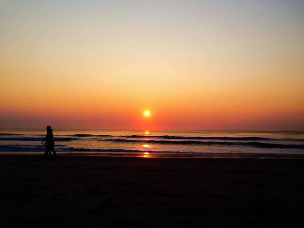 Photograph - Obx Sunrise 2014 by Chris Montcalmo