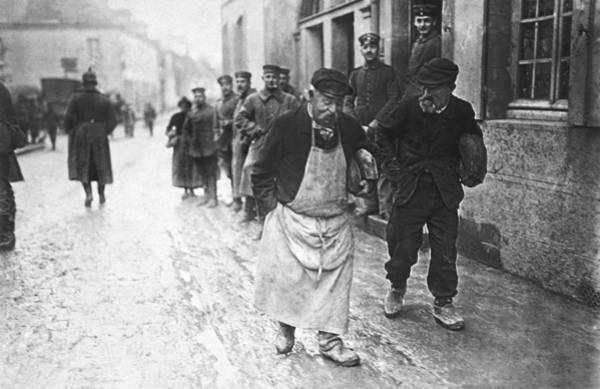 Photograph - Occupied France In Wwi by Underwood Archives