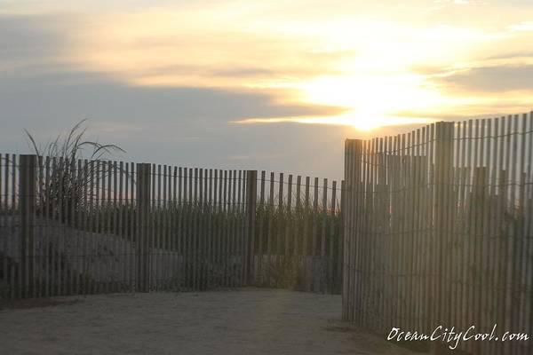 Photograph - Ocean Access At Sunrise by Robert Banach