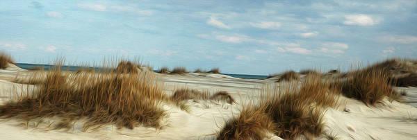 Sand Dunes Digital Art - Ocean Ahead by Kelvin Booker